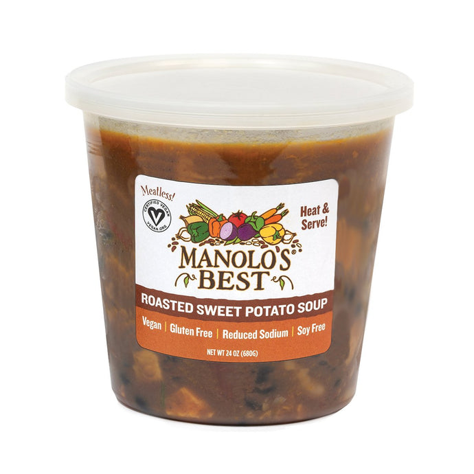 Best Vegetarian Foods and Drinks - Manolo's Best Sweet Potato Chili