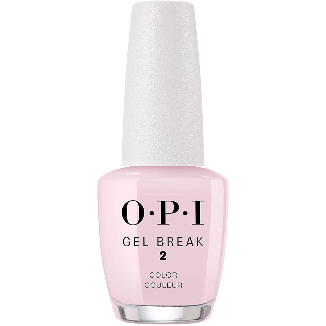 OPI Treatments Gel Break Lacquer-Properly Pink (15ml)