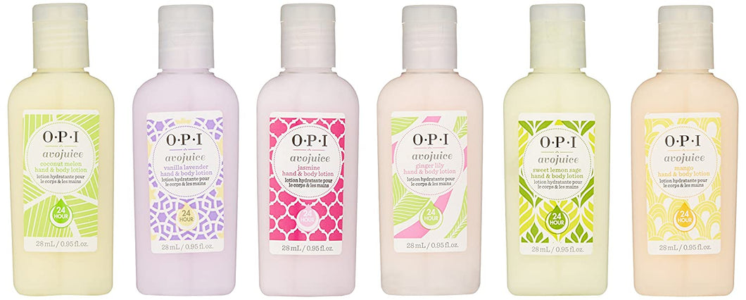 OPI Skin Care Avojuice 6-Pack Asst. Flavors