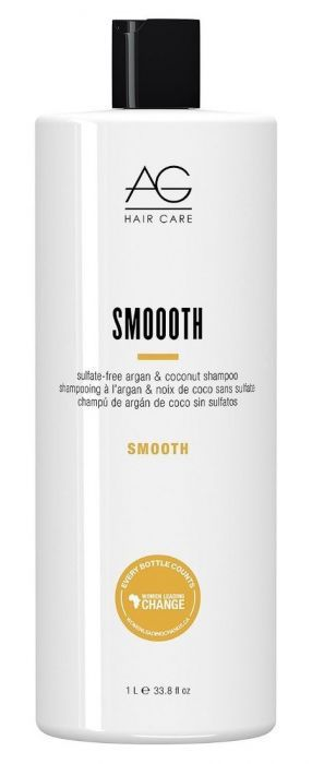 AG Smooth sulfate-free argan & coconut shampoo (1000ml)