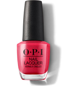 OPI Nail Lacquer Cha-Ching Cherry (15ml)