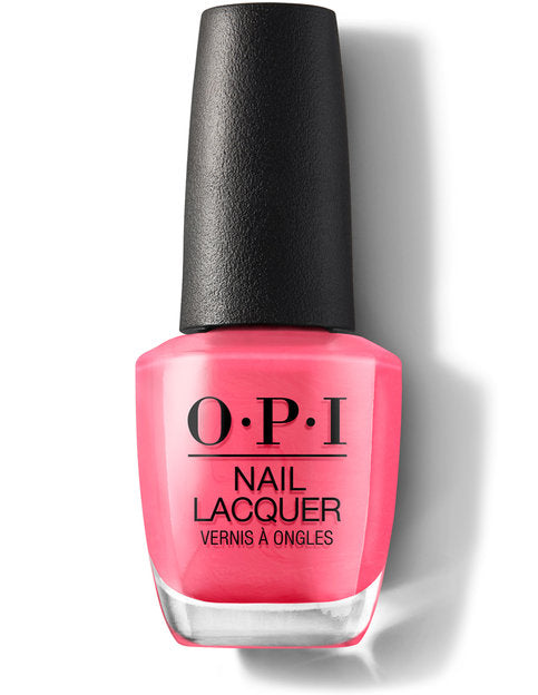 OPI Nail Lacquer Feeling Hot Hot Hot (15ml)