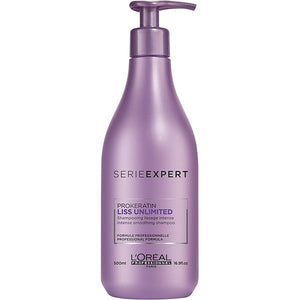 L'OREAL Liss Unlimited Shampoo (500ml)