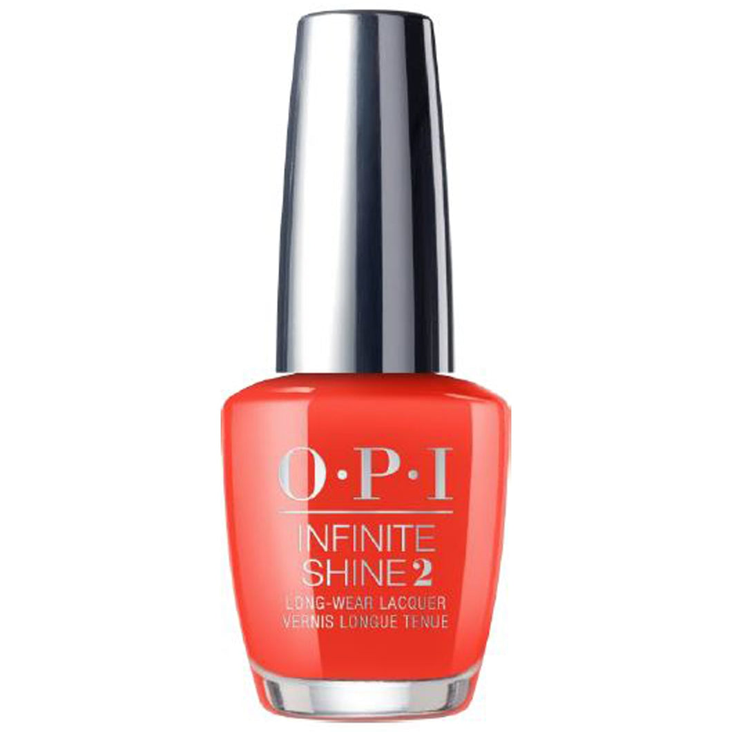 OPI Infinite Shine A Red-Vival City (15ml)