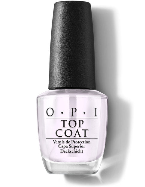 OPI Nail Lacquer Treatment-Top Coat (15ml)