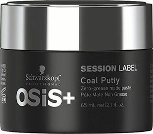 OSiS+ COAL PUTTY Zero-grease Matte Paste (65ml)