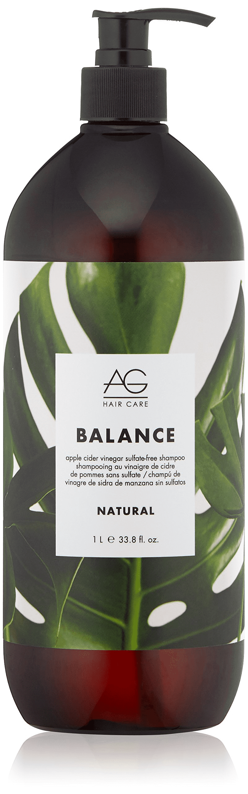 AG Balance Apple Cider Vinegar Sulfate-Free Shampoo (1000ml)