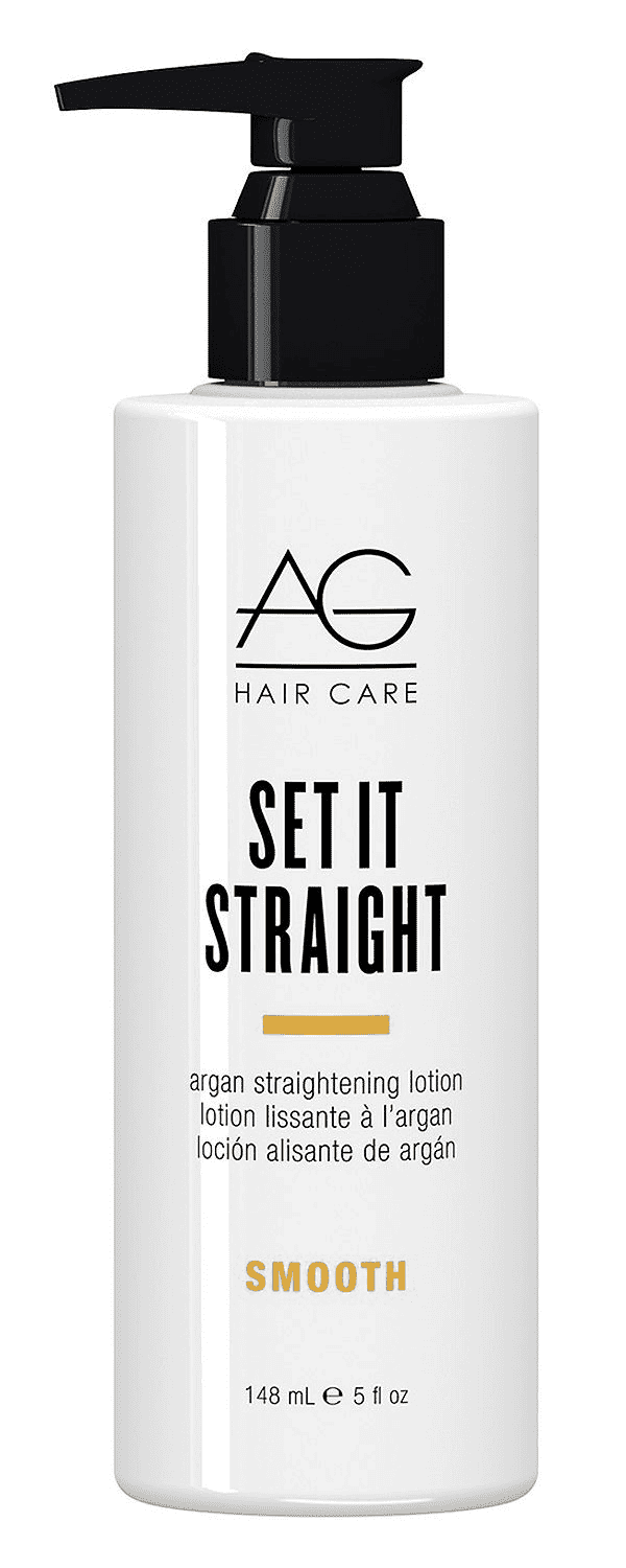 AG Set it Straight argan straightening lotion (148ml)