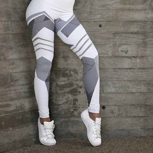 Slim Mesh Vest And Legging Yoga Set - Yoga Pants - MIRACLE&MEMORY