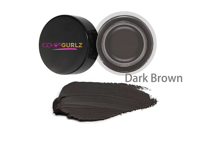 "Color Gurlz Eye Brow Pomade ""Dark Brown"""