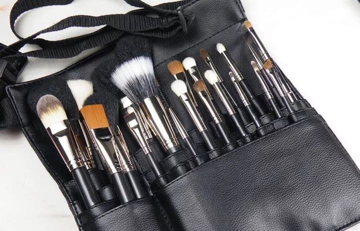 "Professional Make Up Brush Holder ""Black"""