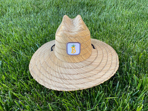 Beachy F&B Straw Beach Hat