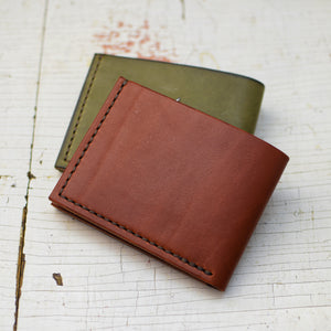 Personalized leather wallet