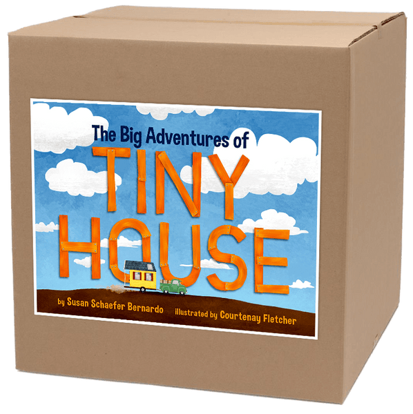 CASE SET (30) The Big Adventures of Tiny House Hardcover