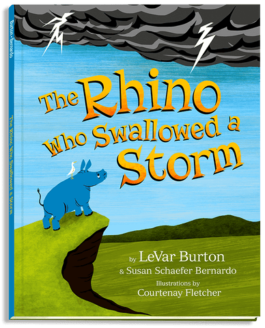 The Rhino Who Swallowed a Storm, Hardcover