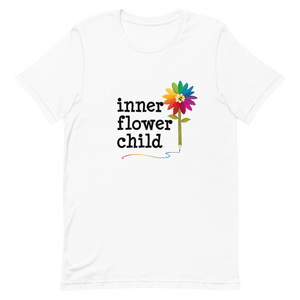 Womens Classic T Shirt Feed Your Inner Flower Child