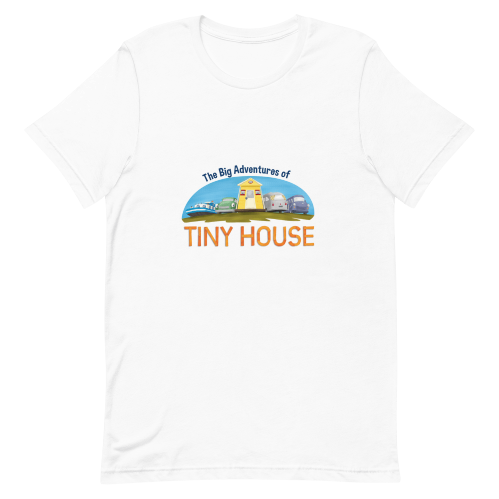Womens Classic T Shirt Tiny House Big Adventures