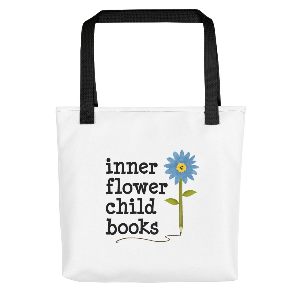 Canvas Tote Inner Flower Child Logo