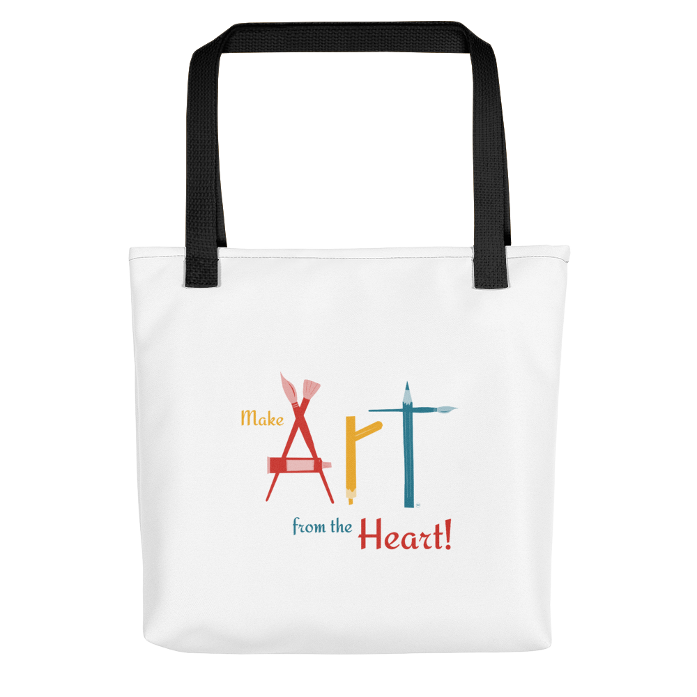 Canvas Tote Art from the Heart