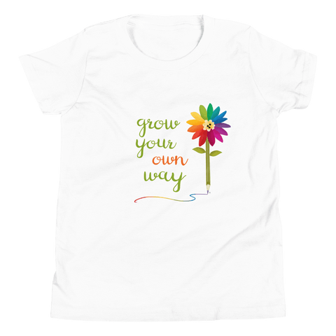 Organic Kids T Shirt Grow Your Own Way