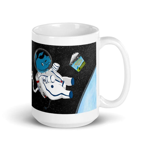 Shoot For The Moon Rhino Mug