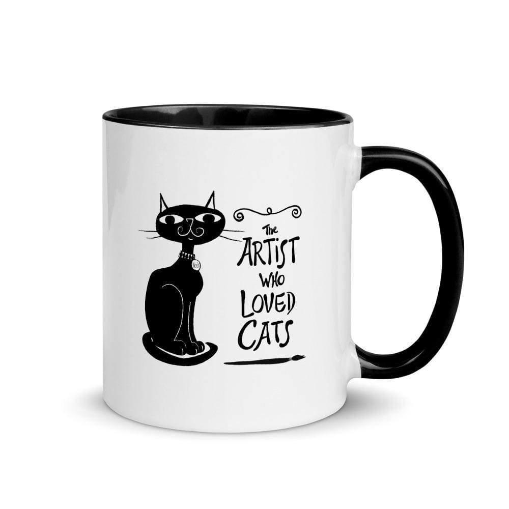The Artist Who Loved Cats - Ceramic Mug