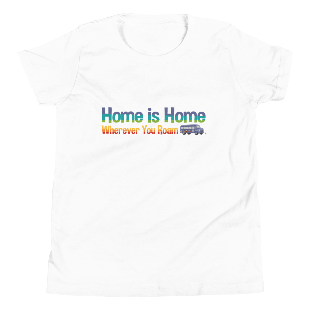 Organic Kids T Shirt Home is Home