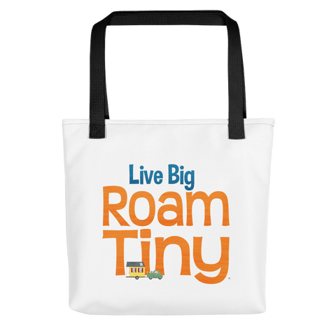 Canvas Tote Live Big Roam Tiny