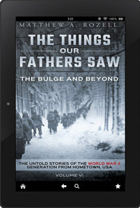 E-BOOK: Volume VI: The Bulge And Beyond: The Things Our Fathers Saw [2020]