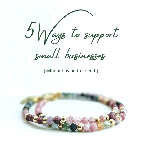 How to support a small business without spending
