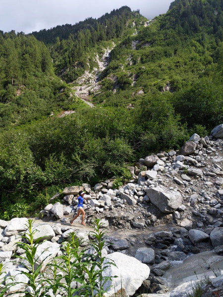 Tour du Mont Blanc and its beautiful mountain scenery