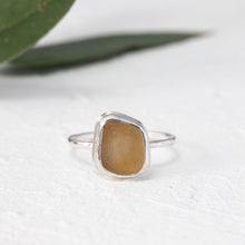 "Load image into Gallery viewer, ""Kate"" sea glass ring"
