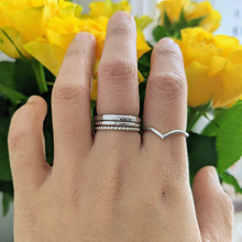 "Load image into Gallery viewer, ""Emily"" wishbone pairing ring"