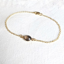 "Load image into Gallery viewer, ""Anna"" delicate gemstone bracelet"