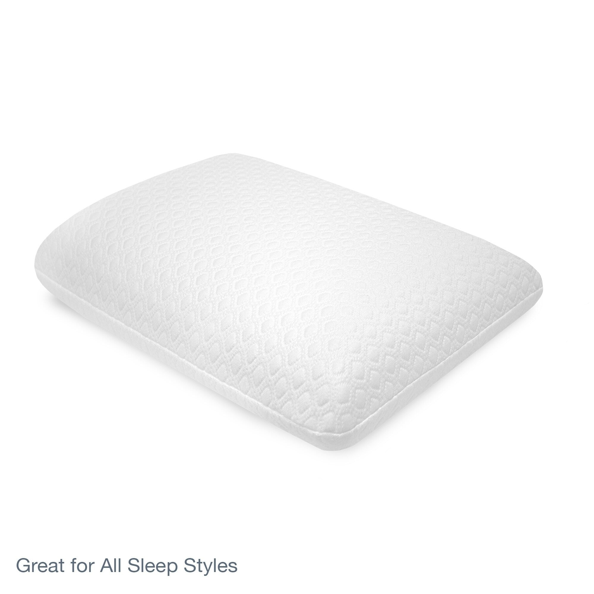 SensorPEDIC Luxury Cooling Gel Overlay Memory Foam Pillow