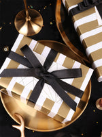 Elegant Gold Wrapping Paper - 3 Roll Pack gift wrap