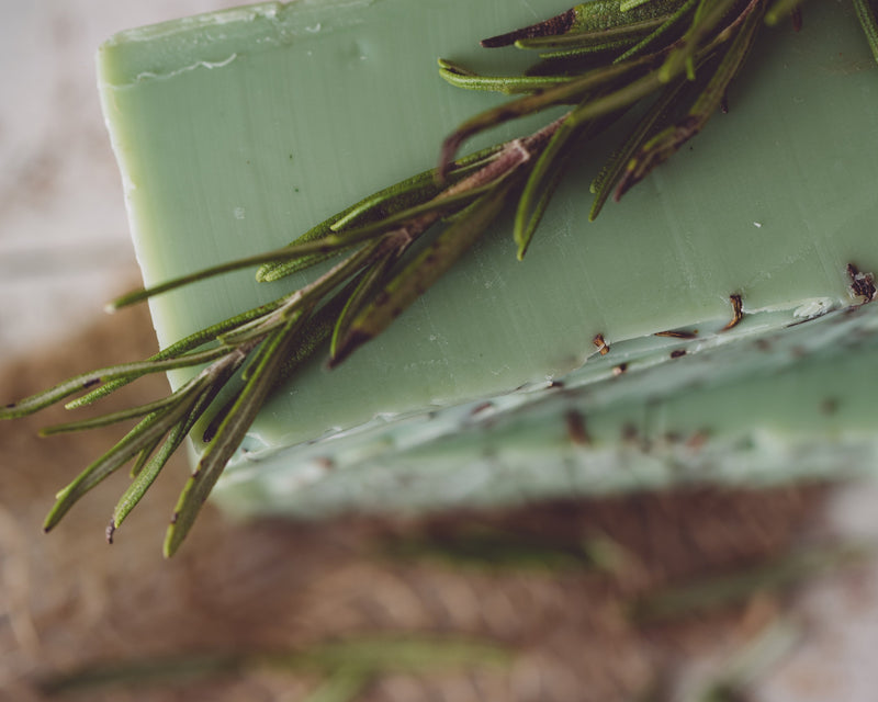 Rosemary Mint Handmade Organic Soap