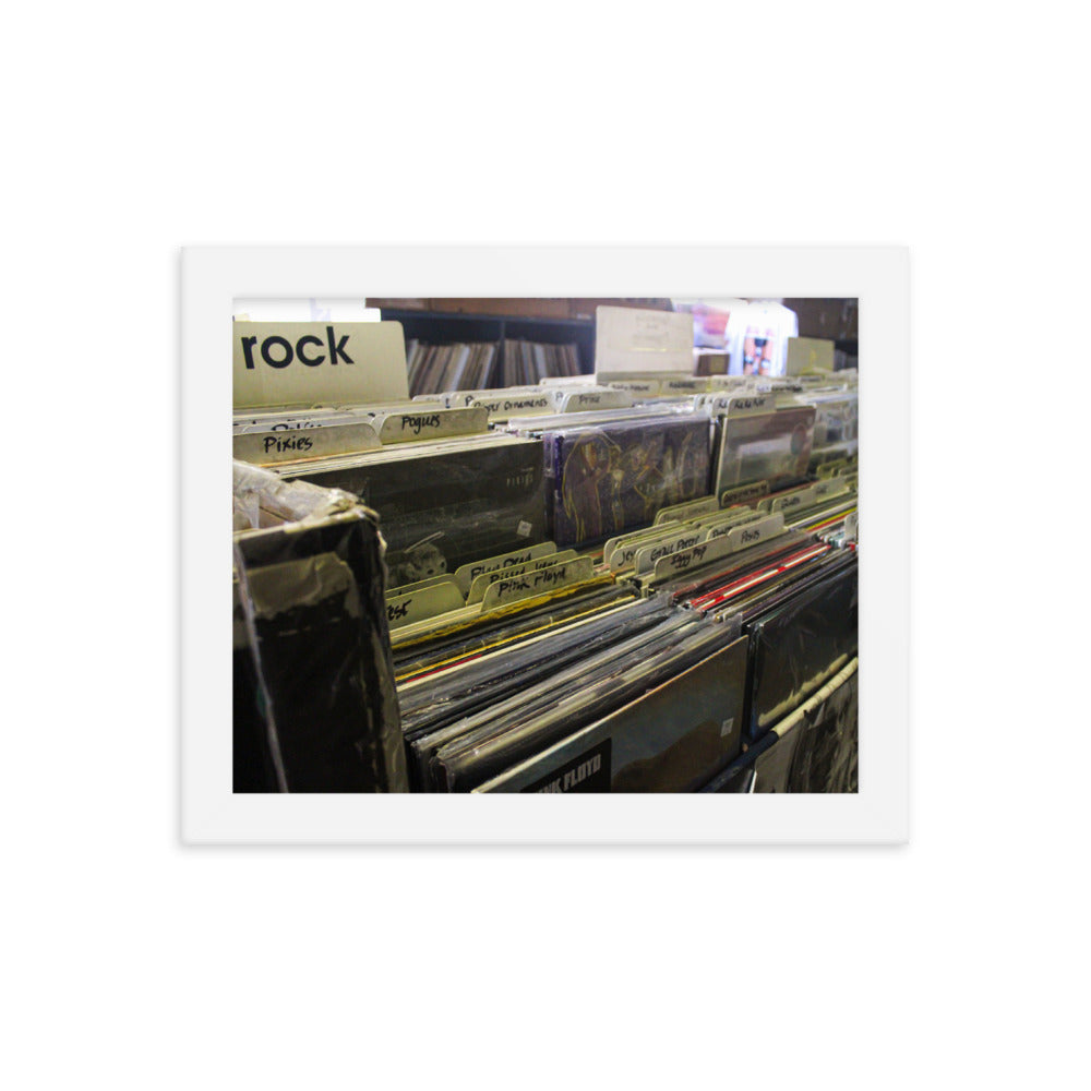 record store rock vinyl album