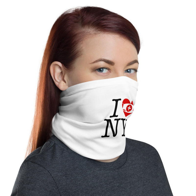 I Love/Face Mask NY Neck Gaiter