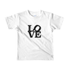 Love, Peace and Soul Short sleeve kids t-shirt