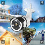 Load image into Gallery viewer, Outdoor Camera - 1080P Security Camera Outdoor, IP66 Waterproof, 2-Way Audio Home Security Camera, Outdoor Camera Wireless with Motion Detection Night Vision, Cloud Storage/TF Card Work with Alexa