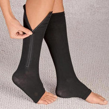 Load image into Gallery viewer, Zipper Compression Socks