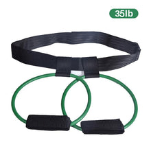 Load image into Gallery viewer, Fitness Booty Bands Set Resistance Bands for Butt Legs Muscle Training Adjust Waist Belt Elastic Bands Pedal Exerciser Workout
