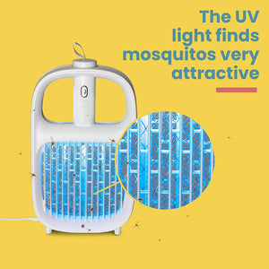 Mosridy™ 2-in-1 Mosquito Killer Lamp Swatter