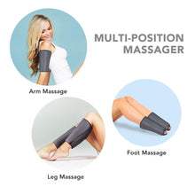 Load image into Gallery viewer, Electric Leg Massager With Air Compression Heating Knee Calf Foot Support