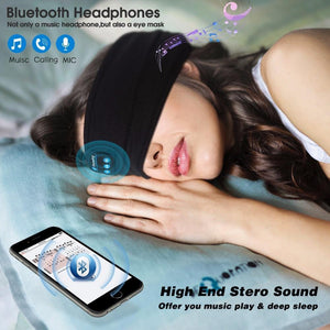 Bluetooth Sleeping Noise Cancelling Earphone Eye Cover