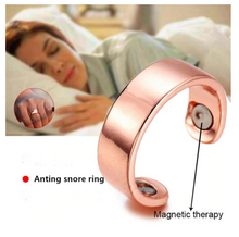 Load image into Gallery viewer, Anti-Snoring Magnetic Therapy Ring