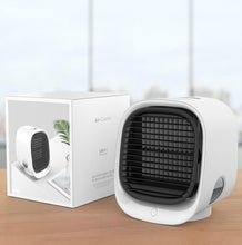 Load image into Gallery viewer, Portable Air Cooler Night Lamp Fan