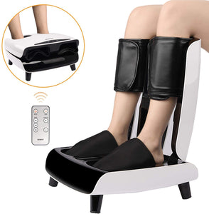 Air Pressure Foot and Leg Massager Full Calf Compression Machine Leg Pump