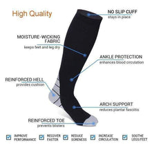 Load image into Gallery viewer, 20-30 MMHG NURSING PERFORMANCE COMPRESSION SOCKS